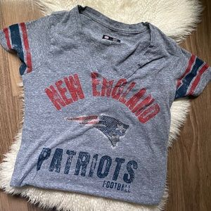 New England Patriots embellished game day tee 🏈